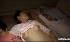 fuck  husband  mature  mom and boy  sleeping  sucking