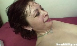 redhead mature step son stepmother
