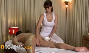 brunette mature  busty  cute mom  massage  orgasm  sexy mature