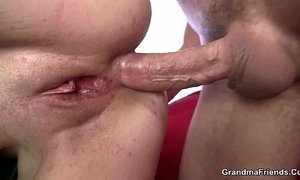ass  banged  bitch  grandma  mature  throating