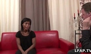 black mature  casting  son and mommy