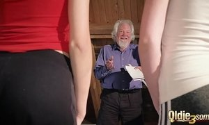 cum  fuck  grandpa  man vs woman  old cunt  sharing