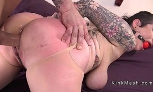 anal fuck huge boobs monster slave tits