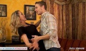 blonde mature  fuck  stepmother