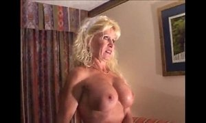 bitch  blonde mature  busty  interracial  mature
