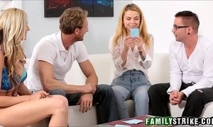 family  orgies  step dad  step sister